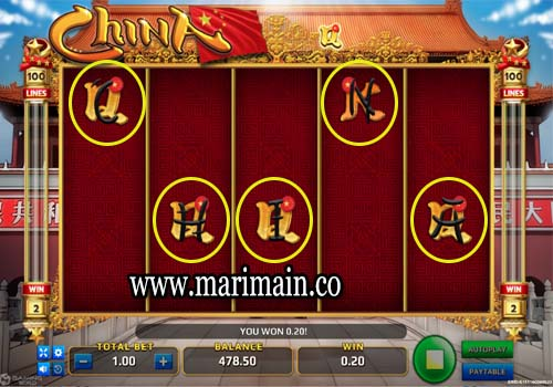 game slot china