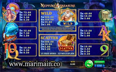 slot neptune treasure